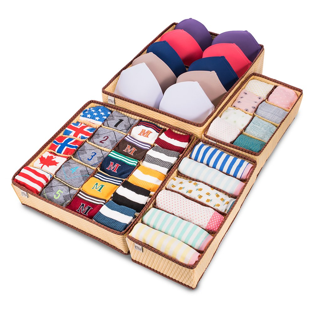 Divided Drawer Organizers, Set of 4! $7.92 on Amazon, 76% off!
