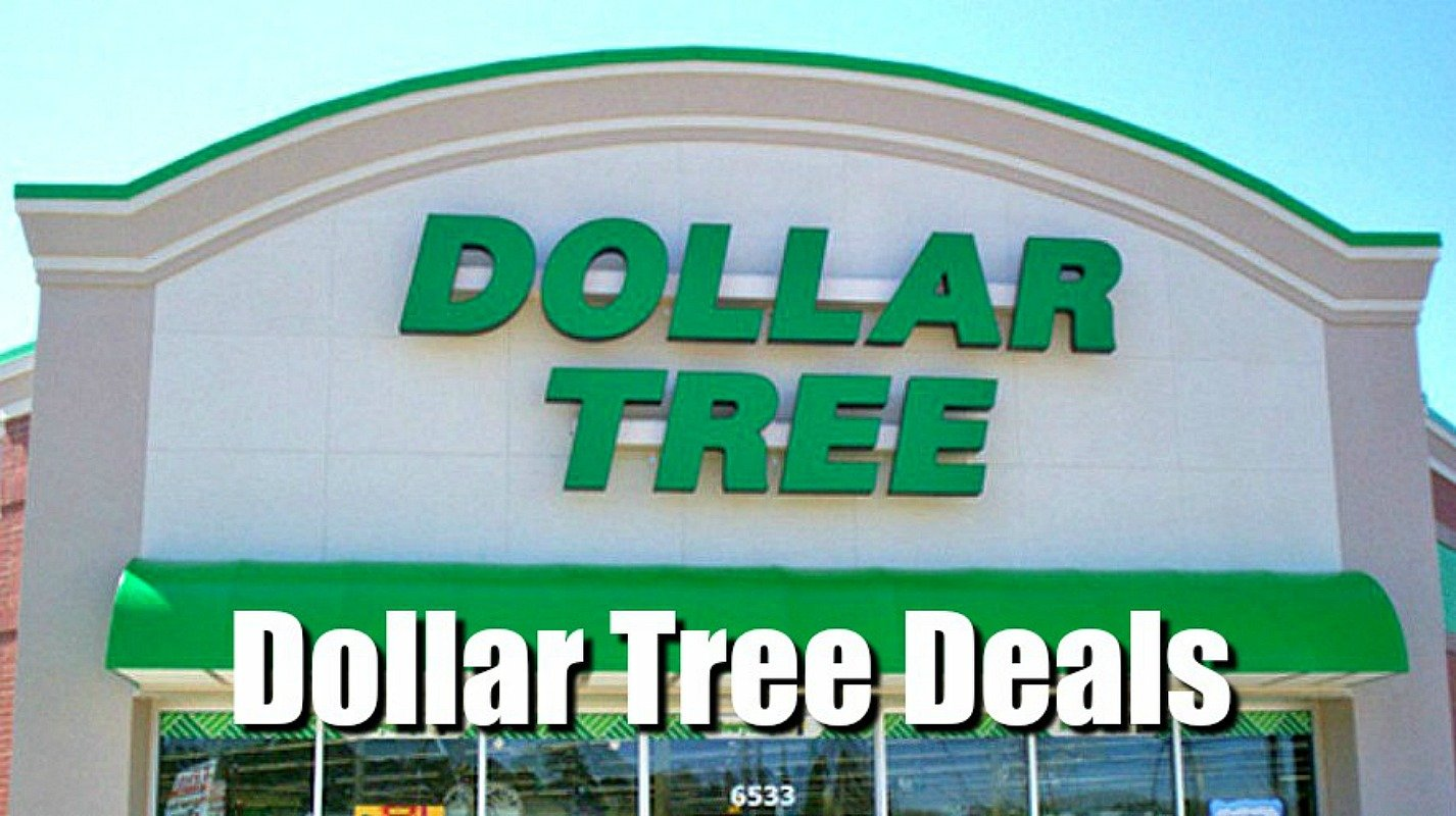 dollar tree deals