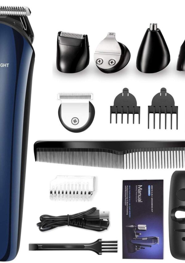 electric trimmer grooming kit