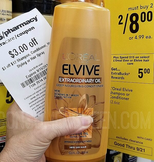 elvive shampoo at CVS