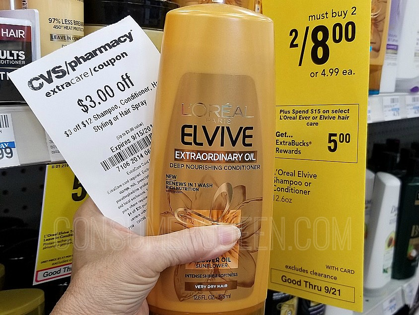 elvive shampoo at CVS