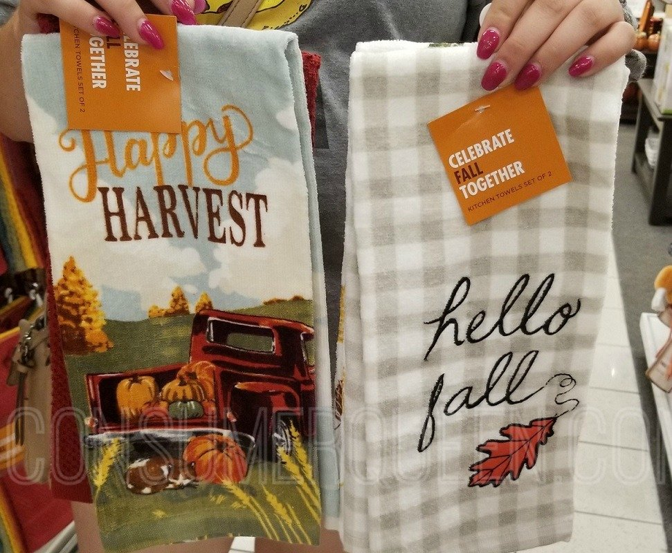 Fall Inspired Kitchen Towels 2 Pk 6 99 20 Off Code At Kohl S