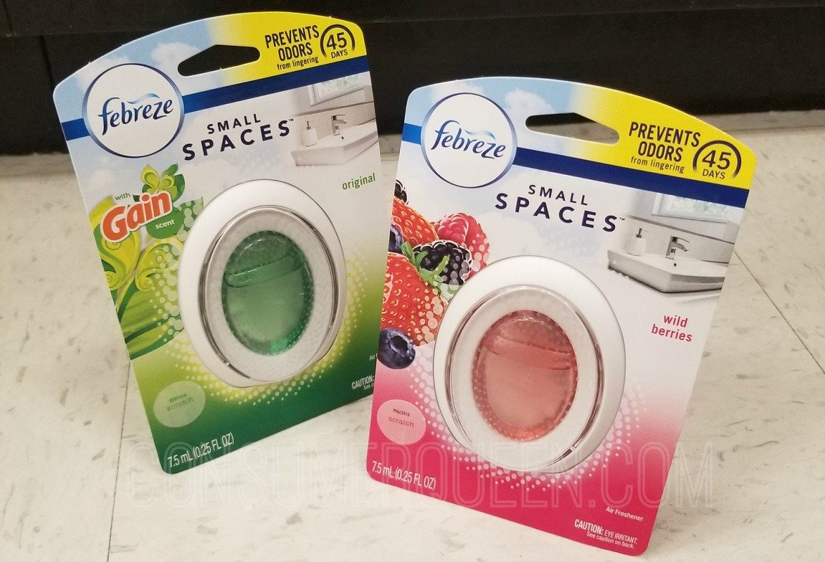 Febreze Small Spaces ONLY $1.48 at Walmart (Reg. $2.97)