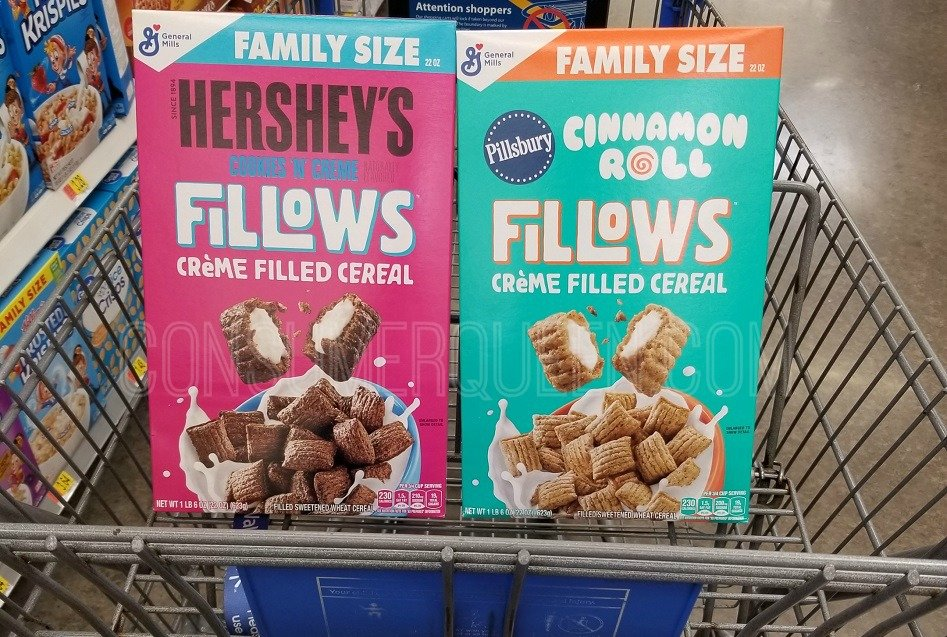 FIVE Free Boxes Of Fillows Cereal at Walmart After Cash Back