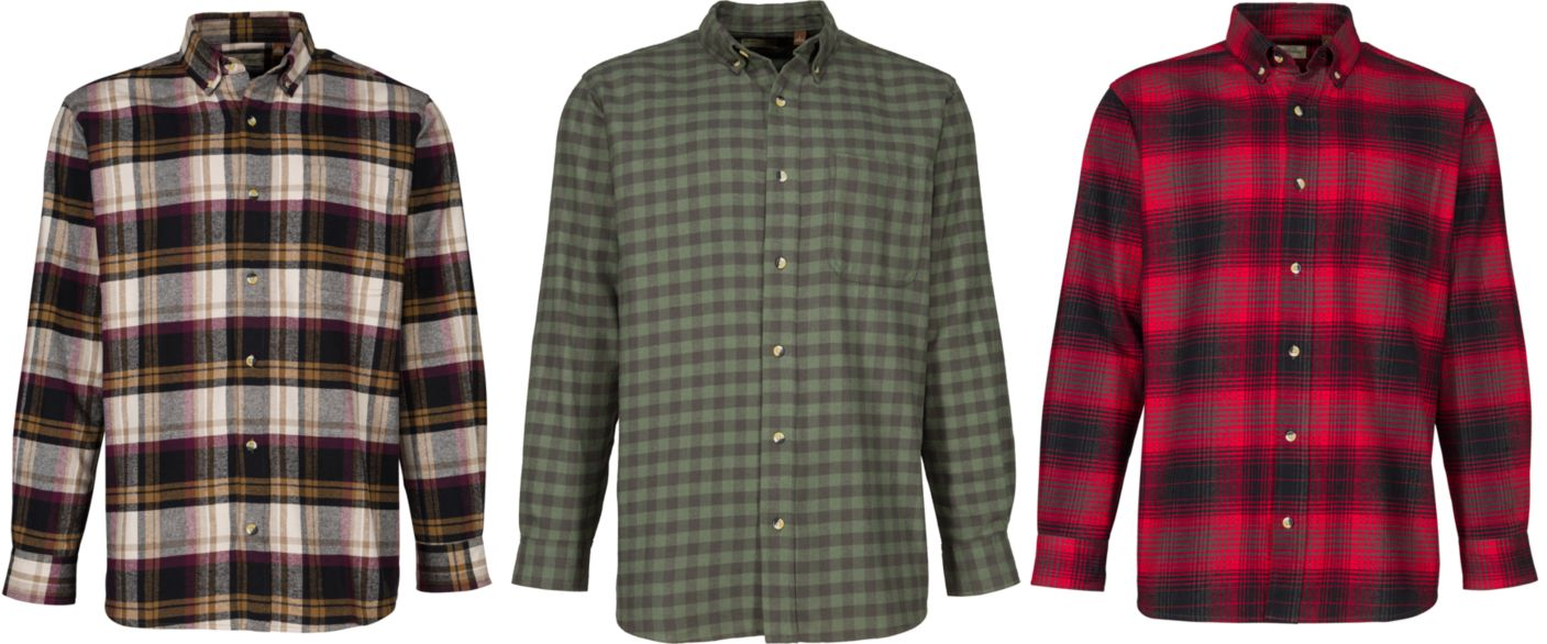 Men's Flannel Shirts Only $10 (Reg $20) + More at Cabella's