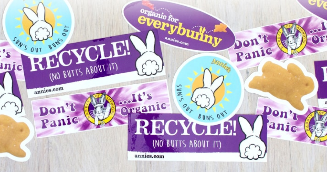 Free Bunny Sticker From Annie's – Grab Yours Now