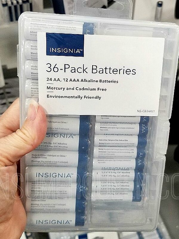36 count insignia batteries at best buy