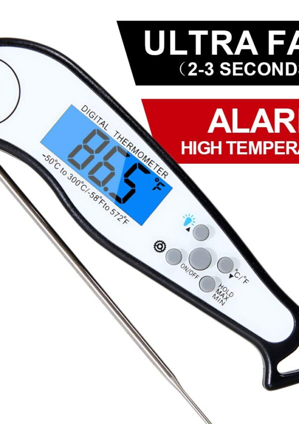 instant digital meat thermometer