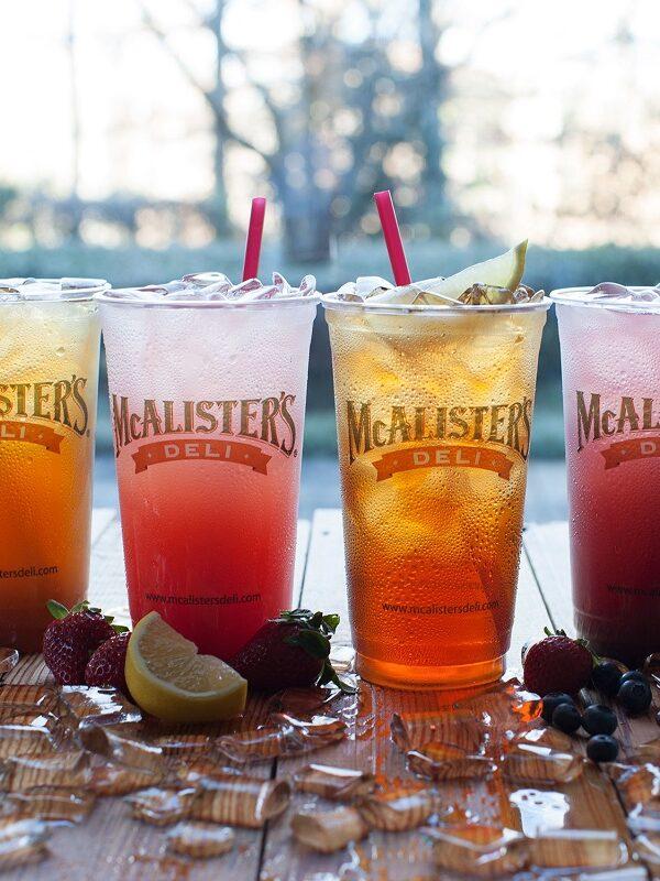 tea at mcalisters deli BOGO free