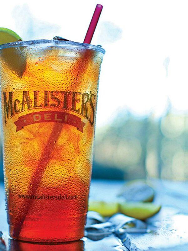 Free mcalister's sweet tea -McAlisters Deli Menu