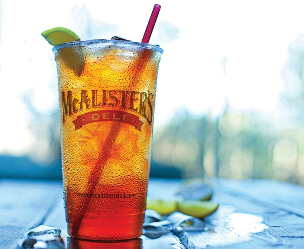 Free mcalister's sweet tea