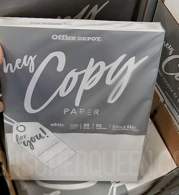 office depot school copy paper