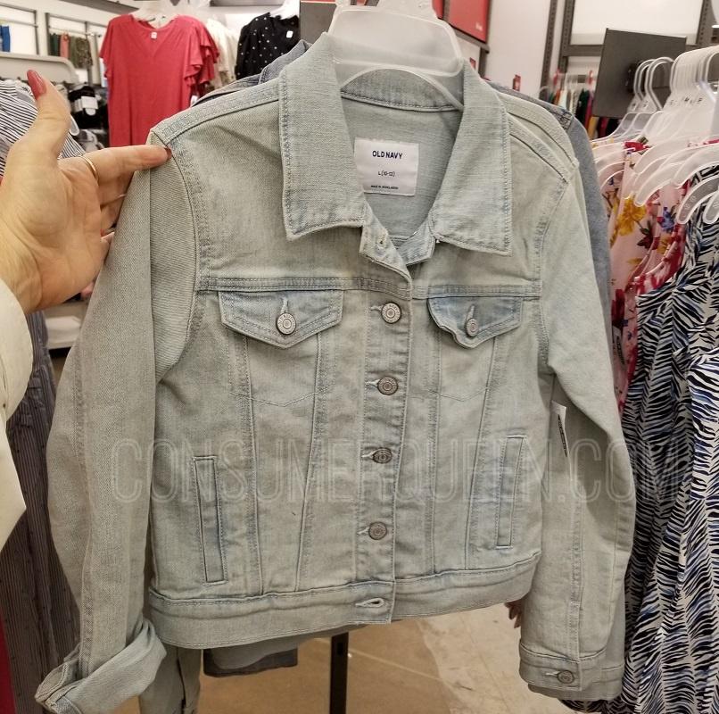 old navy jean jackets