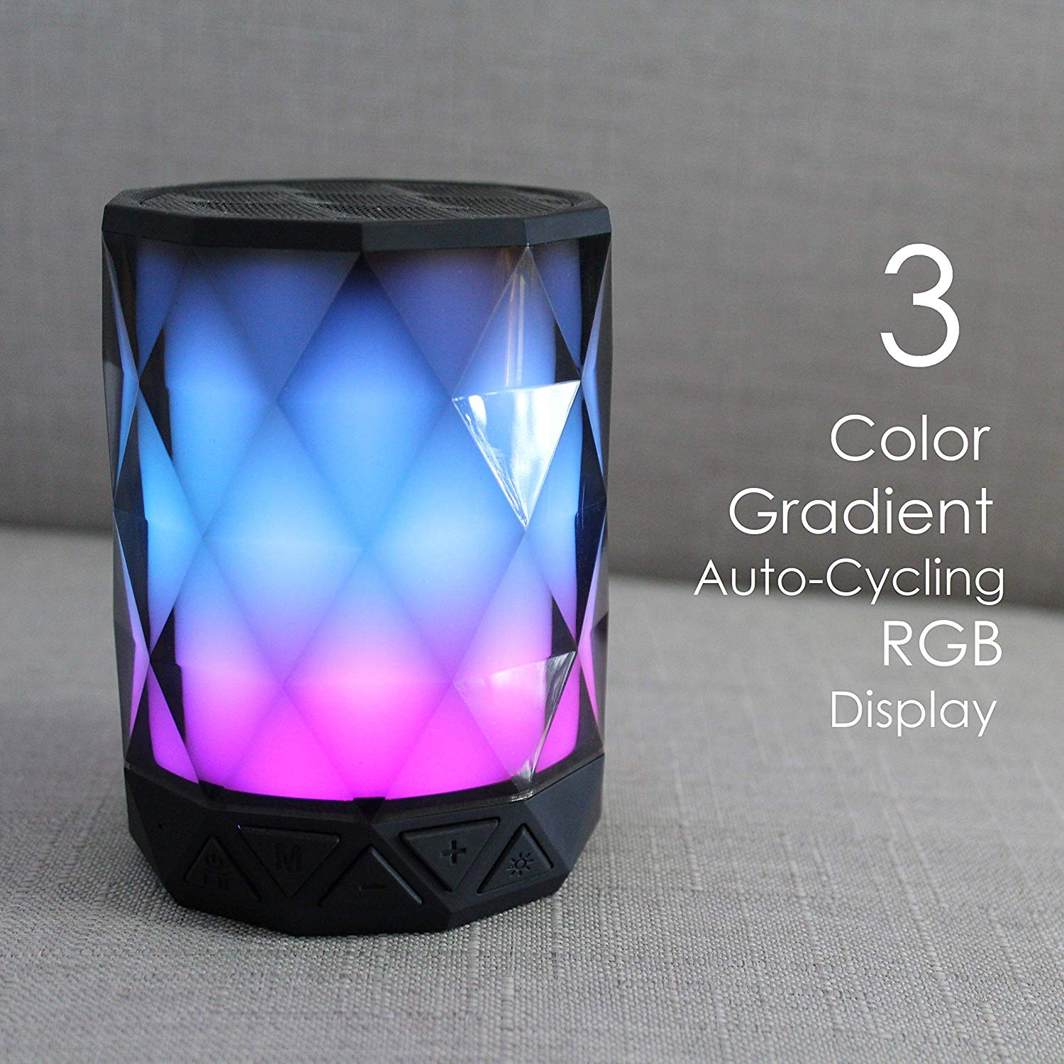 Portable Bluetooth Speaker with lights – $8 on Amazon! 60% off