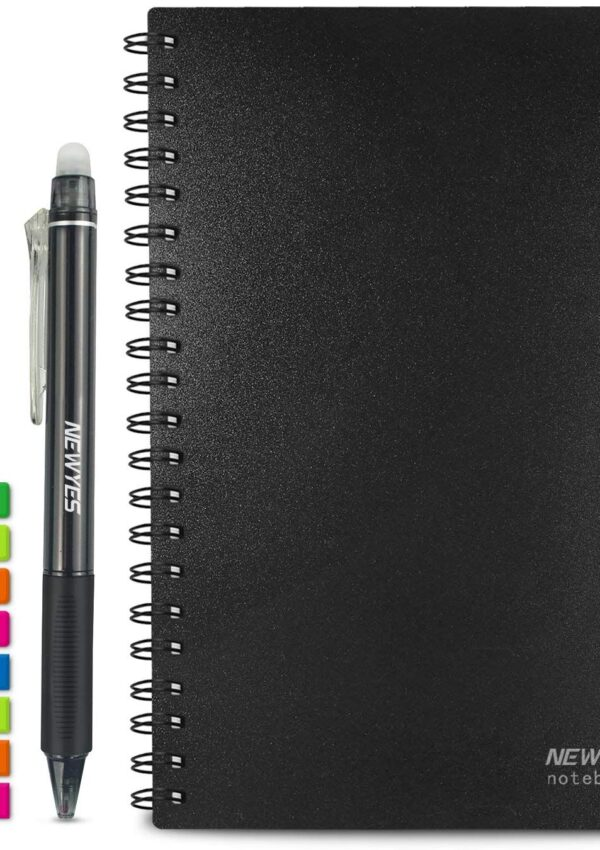 Reusable Smart Notebook, Dotted or Grid – 50% off! $6.99 on Amazon