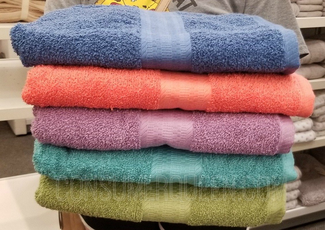 solid color bath towels at kohls