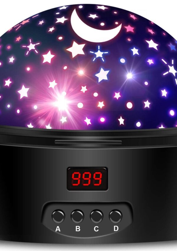 Star Projector and Night Light – perfect for kids! 50% off – $12.47 on Amazon