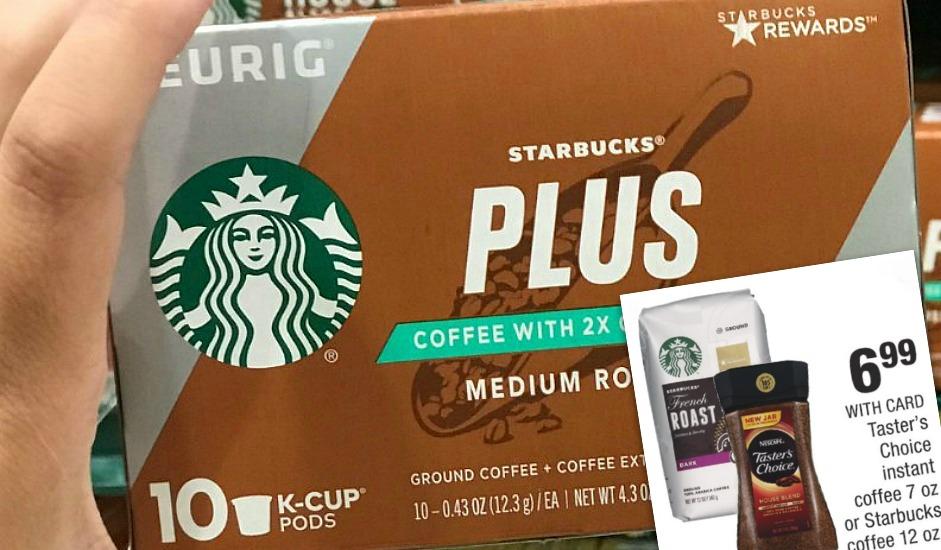 Starbucks Plus K Cup 10-Pack Only $3.99 at CVS After Cash Back