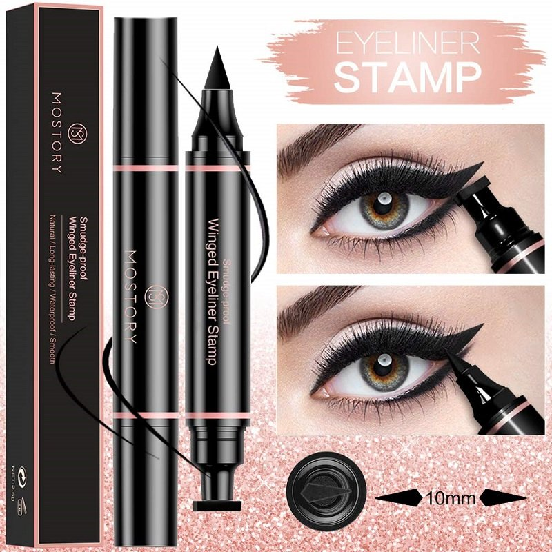 Winged Eyeliner Stamp, for perfect makeup every time! Just $3.99, 50% off on Amazon