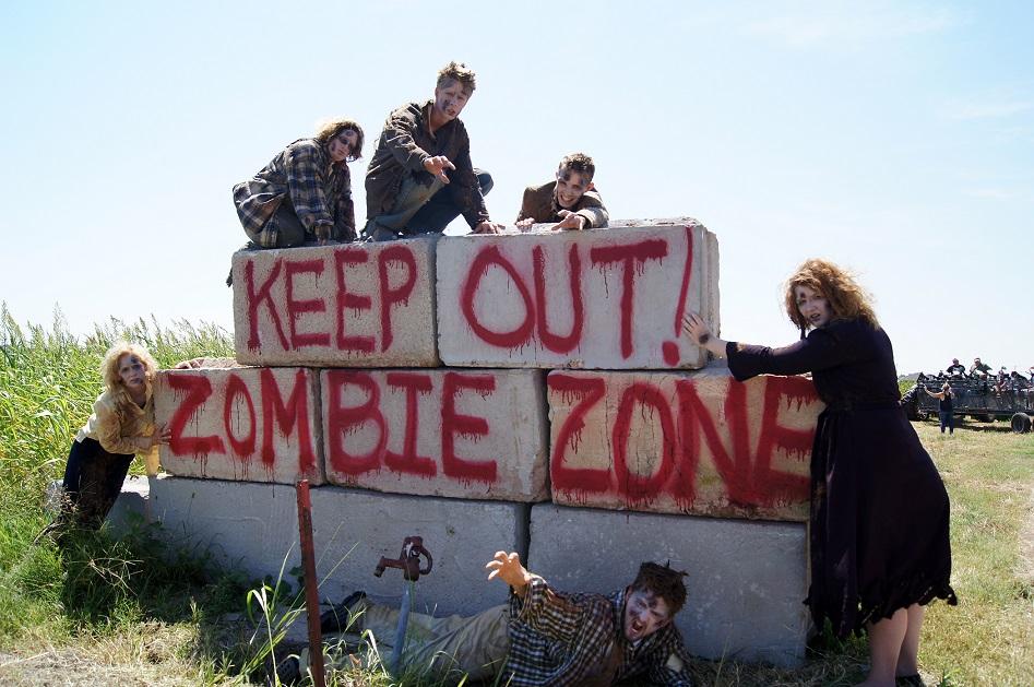 Zombie Apacalypse Paintball Nights BOGO Free at Orr Family Farm