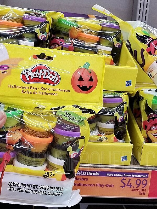 15 Count Halloween Play-Doh Pack Only $4.99 at Aldi!