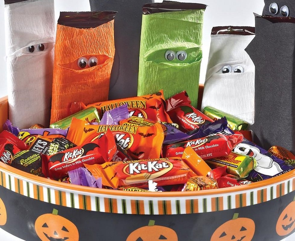 50% off halloween candy