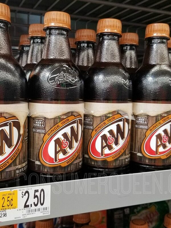 A&W root beer 6 pack at walmart