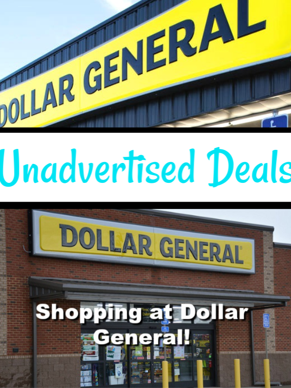 Dollar General Unadvertised Deals 11/14
