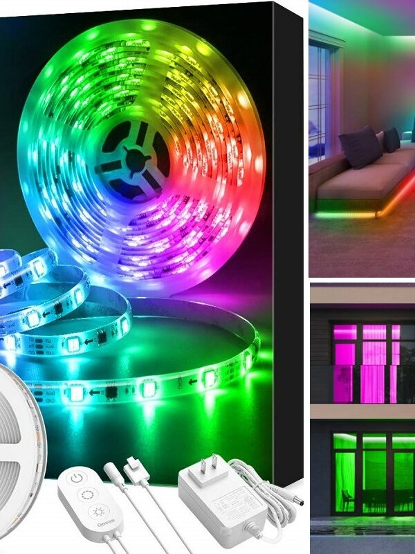 LED color changing strip lights on amazon