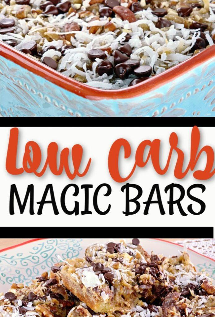 Low Carb Magic Bars
