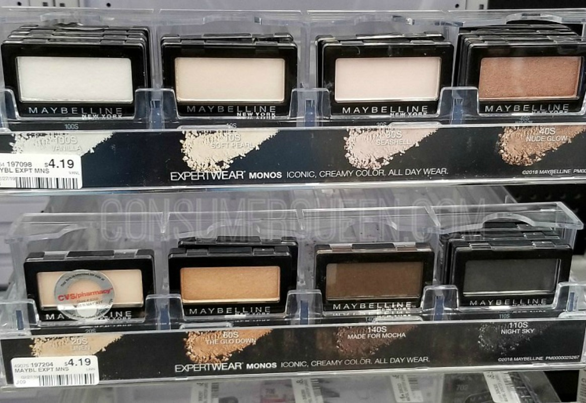 Maybelline Eye Cosmetics as Low as FREE After Rewards at CVS!