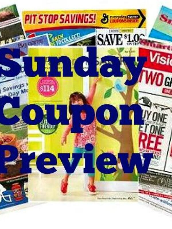 Sunday Coupon Preview 3/7/21 – Three Inserts Coming