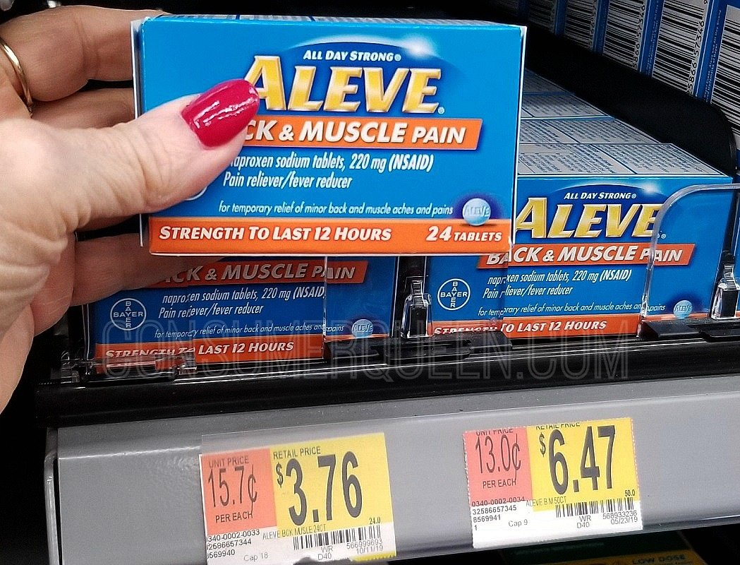 Aleve Back & Muscle 24 Count Just 76¢ at Walmart!