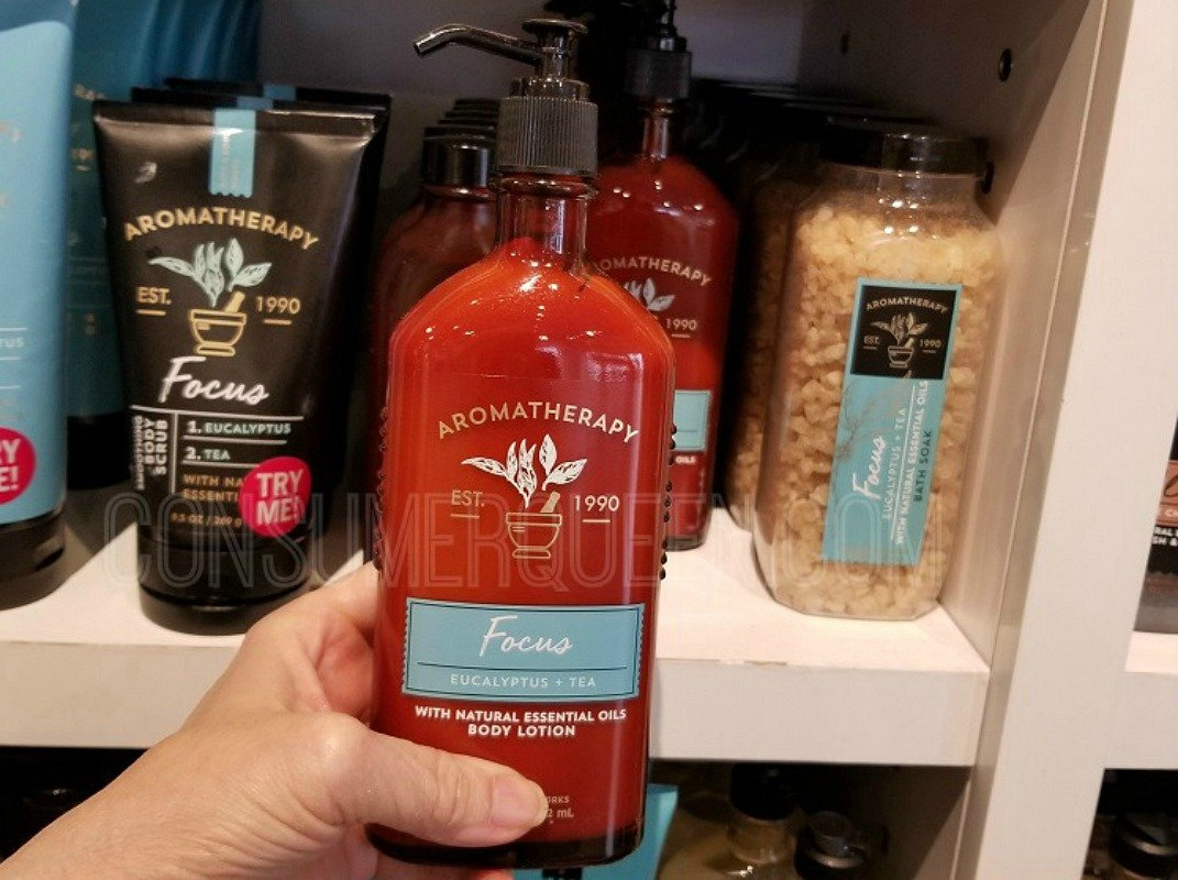 aromatherapy products B2G2 Free at bath & body works