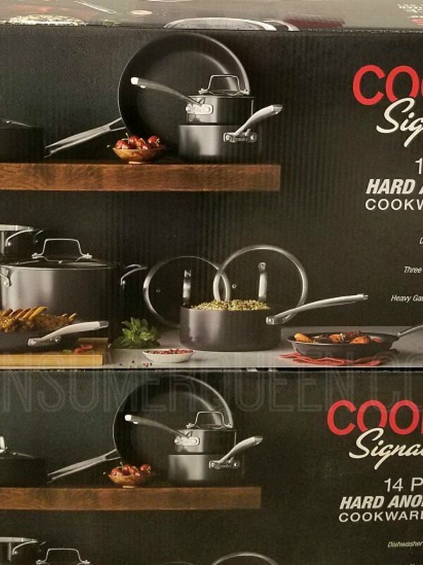Cooks Signature 14 Piece Cookware Only $89.99 (Reg. $400)