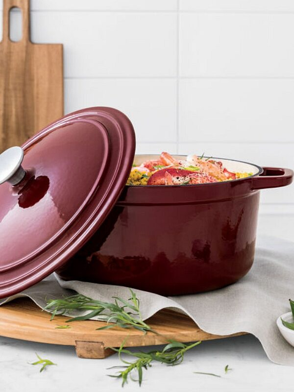 Enamel Cast Iron Dutch Oven Only $44.99 at JCPenney (Reg. $100)