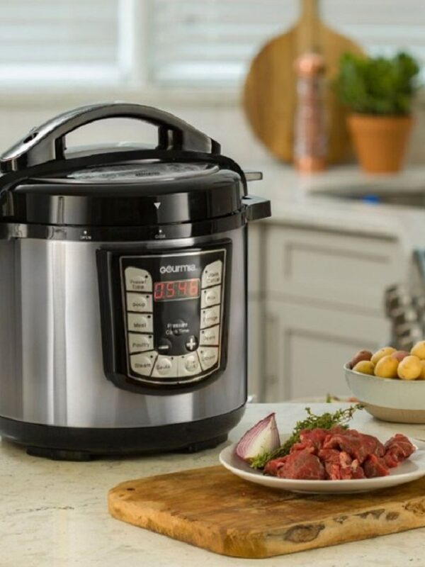 gourmia 8 quart pressure cooker at best buy
