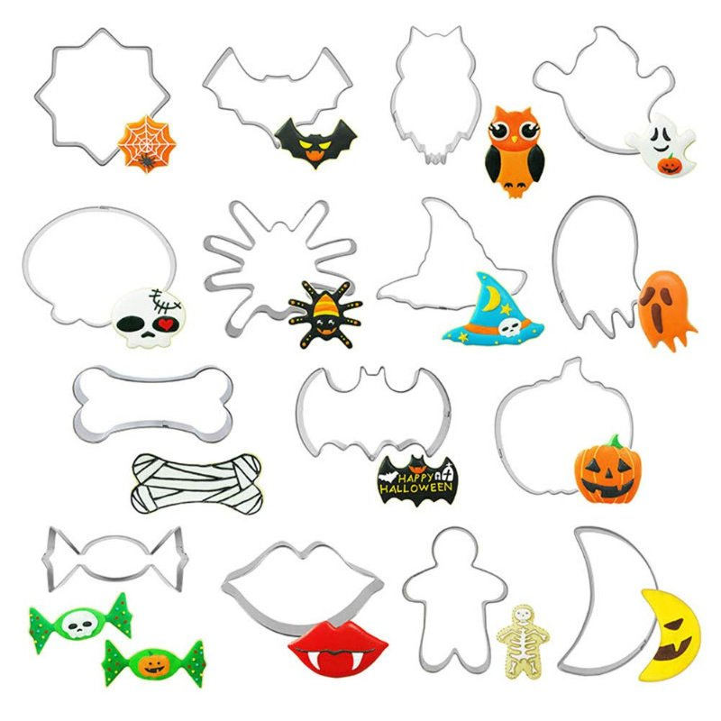 Halloween Cookie Cutters, Set of 15 shapes just $5.49 on Amazon!