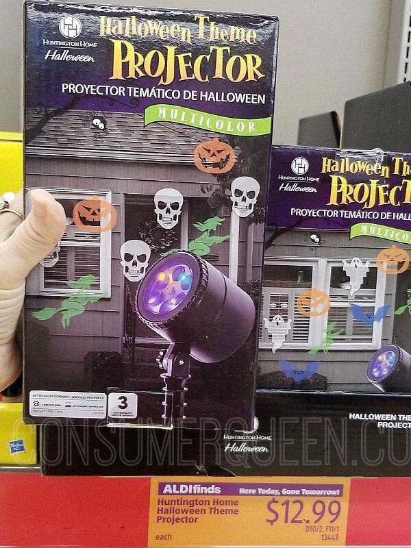 Halloween Aldi Finds – Projectors, Holiday Socks & More!