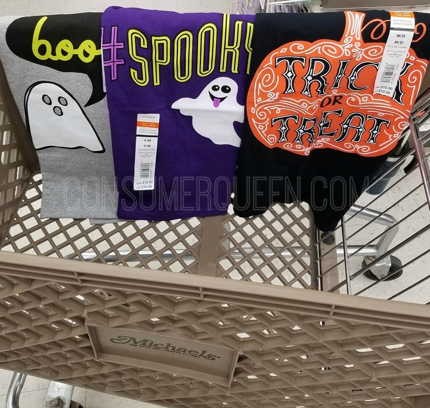 Halloween Tees Only $5 (Reg. $10) at Michael's