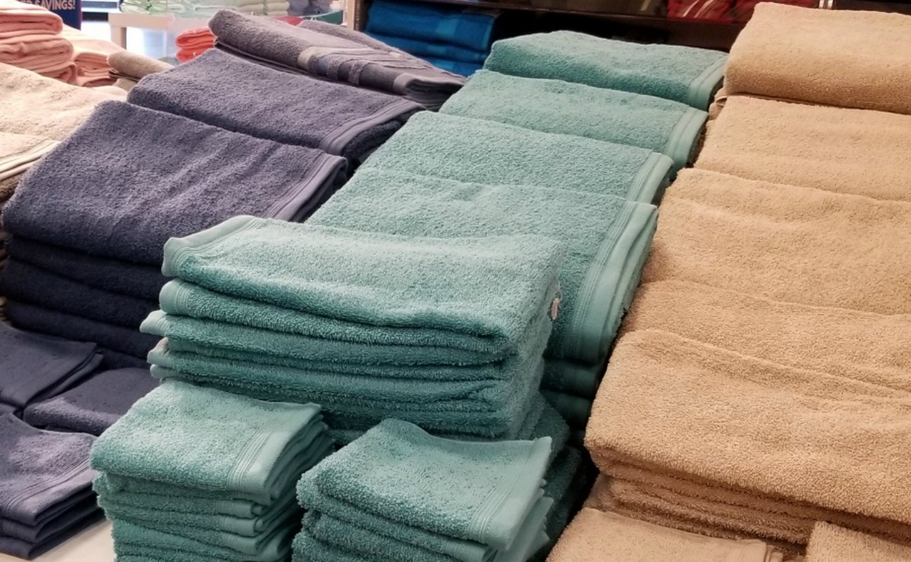 JCPenney home expressions bath towels