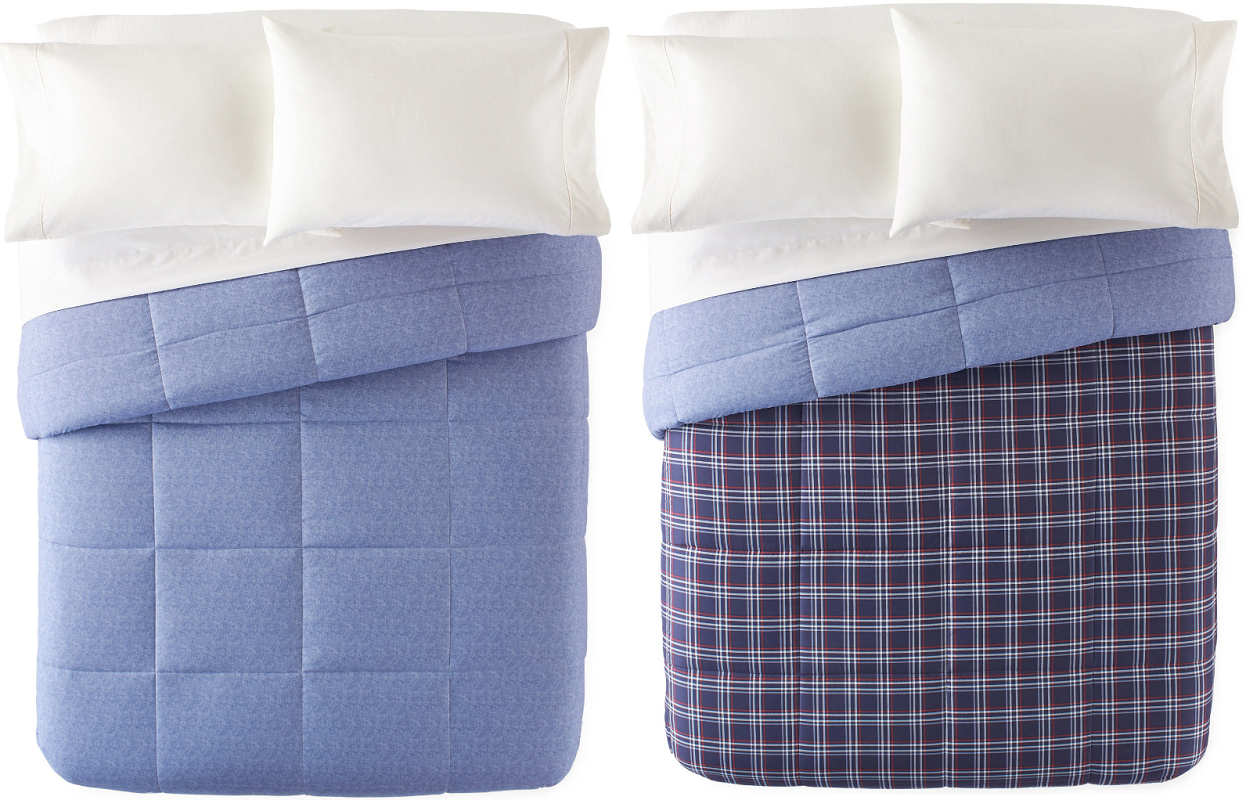 home expressions down alternative comforters at JCPenney