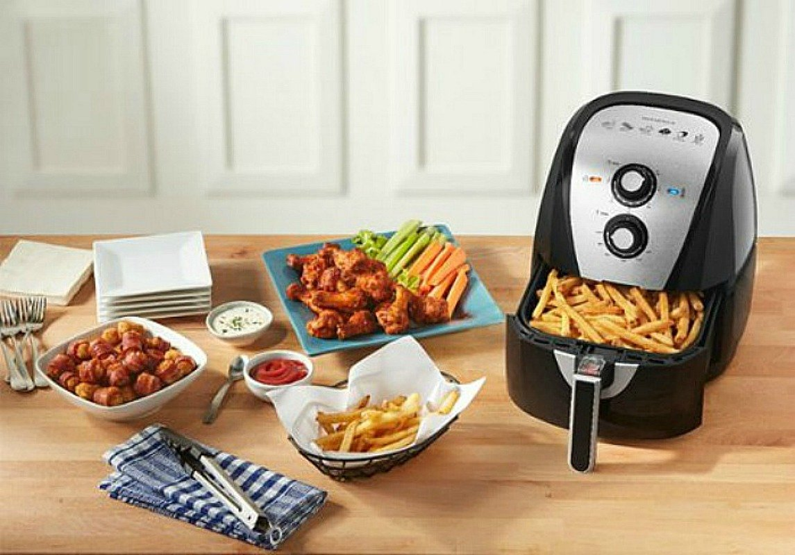 Insignia Analog Air Fryer Only $29.99 + Curbside Pickup (Reg. $80) *EXPIRED*