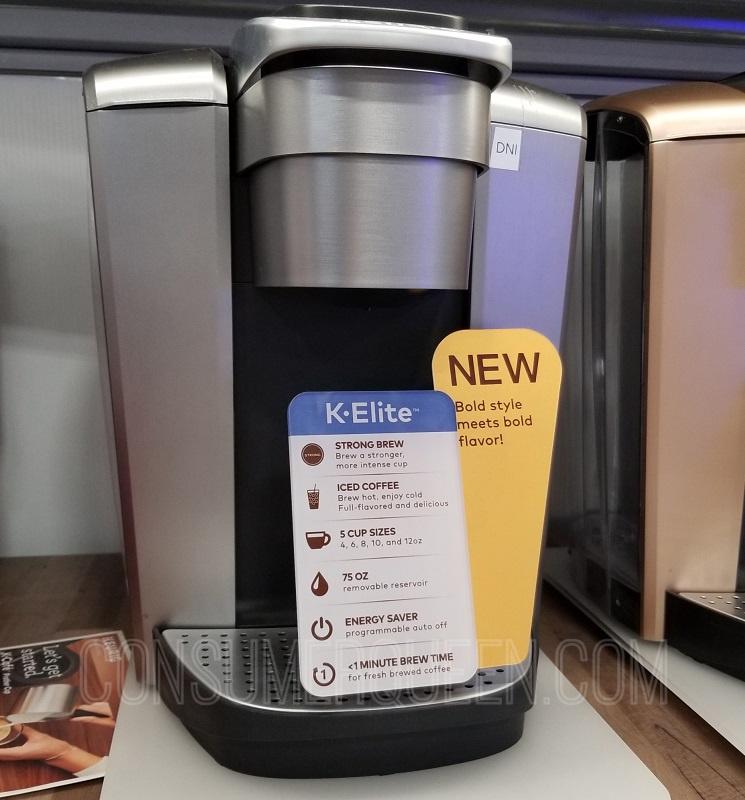 Keurig K Elite Single-Serve Coffee Maker Only $99 Shipped (Reg. $170!) *EXPIRED*