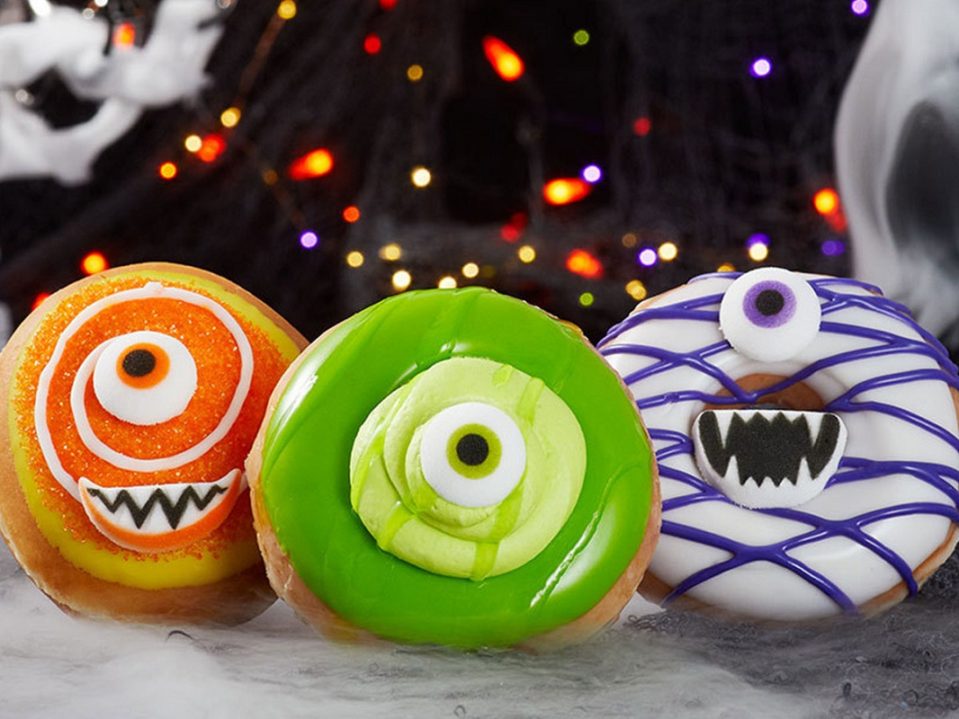 FREE Halloween Doughnut at Krispy Kreme – Just Wear Your Costume