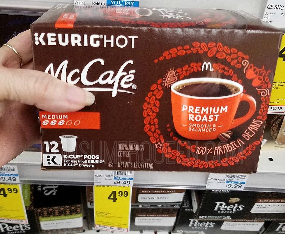 mccafe k cups at cvs