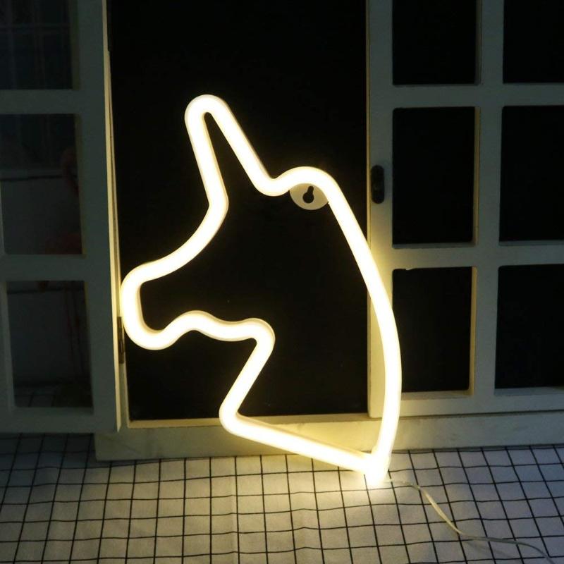 Neon Unicorn Light just $6.49 – 50% off on Amazon!