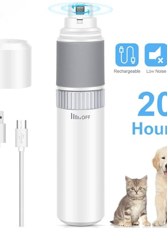 Pet Nail Grinder for Trimming Paws – just $7.99 on Amazon!
