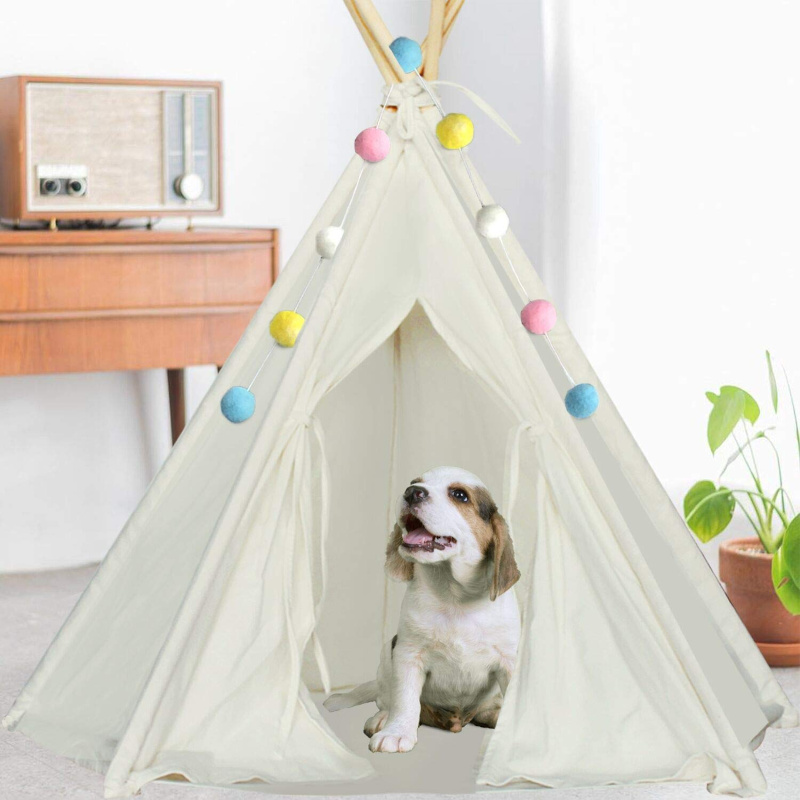 Pet Teepee Tent – adorable unique pet bed for your small animals! $15.99 on Amazon