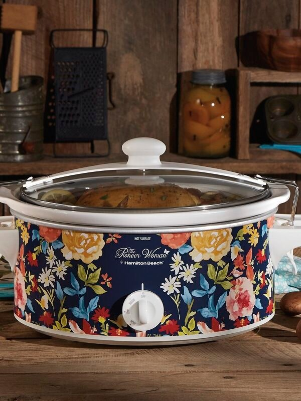 pioneer woman 6 quart slow cooker at walmart